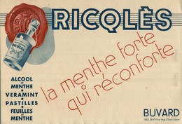 BUVARD RICQLES - Sprudel & Limonade
