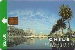 TARJETA TELEFONICA DE CHILE. Estero Marga Marga (2nd Issue) 04/98. CL-CTC-0044 (294) - Cile