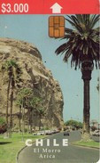 CHILE. El Morro - Arica (2nd Issue) 07/98. CL-CTC-0047 (423) - Cile