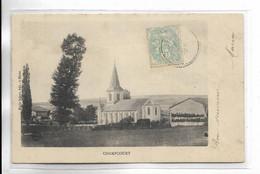 52 - CHAMPCOURT ( Actuellement, Commune De Colombey-les-Deux Eglises. Carte Précurseur - Other Municipalities
