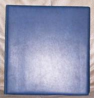 Bund Vordruckblätter Lindner-T 1980 - 1989 Komplett Im Blauen Wattierten Lindner Ringbinder  Neupreis über 140,- Euro - Binders With Pages