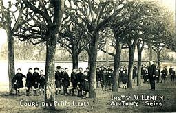AT 185/  C P A  ANTONY     (92)    INST VILLENFIN  COURS DES PETITS  ELEVES - Antony