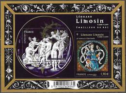 France 4928 2015 Léonard Limosin Michel-Nr. Bl. 281 (6089-90) MNH Mint Neuf Postfrisch ** - Ongebruikt