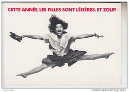 """RT28.414 PUBLICITE.SPOT MODE .LA VALETTE DU VAR ZONE """"LES ESPALUNS"""" FACE BARNEOUD .CHEMISIER.JUPELES FILLES SONT LEGERES - Advertising"""