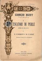 B 4402 - Libro, Opera, Bizet - Teatro