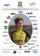 CARTE CYCLISME RITA DAHLE GUNN WOMEN'S TEAM SAFI 2005 - Ciclismo