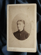 Photo CDV Morren à Louvain  Portrait Femme (Joséphine Gevers)  CA 1880 - L559C - Oud (voor 1900)