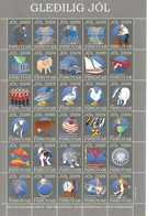 Faroe Islands 2009 - Christmas,sheet, With No Perforation  In Top Margin MNH(**) - Féroé (Iles)
