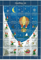 Faroe Islands 2010 - Christmas,sheet, With Perforation  In Top Margin MNH(**) - Féroé (Iles)