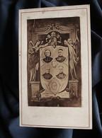 Photo Anonyme Religieux Les Martyrs De La Terreur 1873 : R.P. Radigue, Tuffier, Monchouse ?, Tardieu - L559C - Anciennes (Av. 1900)