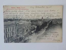1905 CP Animée Russie Odessa Rue Preobragenskaya N° 111 - Rusia