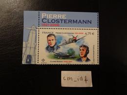 """FRANCE 2021 POSTE AERIENNE 4,71 """" CLAIRE ROMAN - PIERRE CLOSTERMANN """" ISSU  DE FEUILLET DE 10 TIMBRES AVIATEURS - 1960-.... Mint/hinged"""