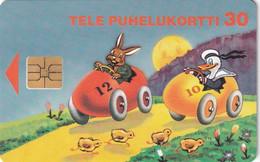 FINLAND - Rabbit And Duck, Happy Easter, Tirage 50000, 02/97, Used - Non Classificati