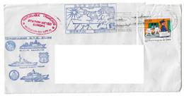 18092 - CAMPAGNE JEANNE D'ARC - GTE 97 - 98 (MARNE - DGT - GERMINAL) STATION METEO EUROPA - Janvier 1998 - Naval Post