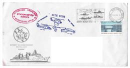18093 - CAMPAGNE JEANNE D'ARC - GTE 97 - 98 (MARNE - SEYCHELLES ) STATION METEO EUROPA - Janvier 1998 - Naval Post