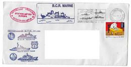 18094 - CAMPAGNE JEANNE D'ARC - GTE 97 - 98 (MARNE - DGT - GERMINAL) STATION METEO EUROPA - Janvier 1998 - Naval Post
