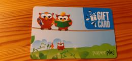 Paper Plus Gift Card Australia - Owl - Gift Cards