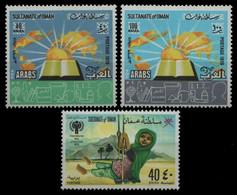 Oman 1979 - Mi-Nr. 193-194 & 195 ** - MNH - 2 Ausgaben - Oman