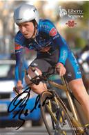 CARTE CYCLISME JOSEBA BELOKI SIGNEE TEAM LIBERTY 2005 - Cycling