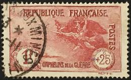 YT 231 Orphelins De La Guerre La Marseillaise De Rude (°) Obl 1926-27 1f+25c (48 Euros) SO Dent Courte France – 3bleu - Used Stamps