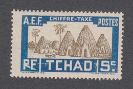 Colonies Françaises -Timbres Neufs** - Tchad - Taxe N°12 - Ungebraucht