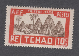 Colonies Françaises -Timbres Neufs** - Tchad - Taxe N°13 - Ungebraucht