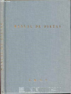 Manual De Dietas- Instituto Mexicano Del Seguro Social, Subdireccion General Medical, Epartamento De Planeacion Tecnica - Cultural