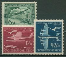 Deutsches Reich 1944 25 Jahre Deutscher Luftpostdienst 866/68 Postfrisch - Ongebruikt