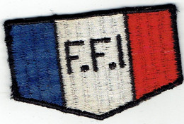 Patch écusson Tissu Insigne FFI - Escudos En Tela