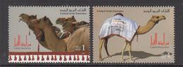 2011 United Arab Emirates Camels  Set Of 2 MNH - Ver. Arab. Emirate