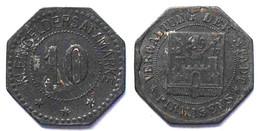 Pirmasens 10 Pfennig Notgeld/Kleingeldersatz 1917 Zink    (21954 - Other