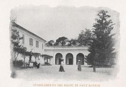 Cartolina Carte Postale Postkarte Postcard BAGNI  DI SANT'AGNESE DI CHIANCIANO TERME Perfetta - Siena