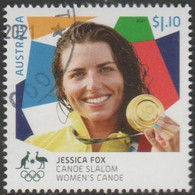 AUSTRALIA - USED 2021 $1.10 Tokyo Olympic Gold Medal Winners: Women's Canoe Slalom - Used Stamps