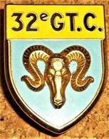 32° Groupement De Camp. Sigle GTC. D.2092. - Army