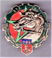 511° Régiment Du Train. Tête Relief. émail Grand Feu. Delsart.2631. - Army