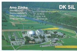 Germany 1996 QSL Cards - Radio Amateur - Obrigheim - Radio Amateur