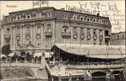 CPA Potsdam In Brandenburg, Palast Hotel, Zum Schultheiss - Otros
