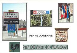 47 - Penne D'Agenais - Multivues - Autres Communes