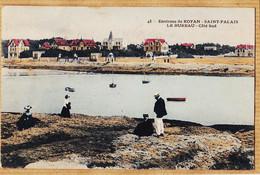 X17117 Peu Commun Environs ROYAN SAINT-PALAIS St (17) Le BUREAU Côté Sud 1906 à MAYRAC Cours National Saintes /43 - Saint-Palais-sur-Mer