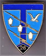 28° RT. 28° Régiment De Transmissions. Delsart.208. - Army