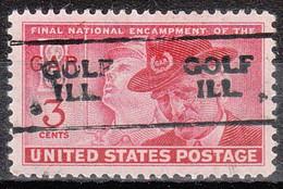 USA Precancel Vorausentwertungen Preos, Locals Illinois, Golf 701 - Vorausentwertungen