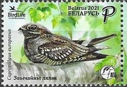 BELARUS, 2021, MNH, BIRDS, BIRDLIFE INTERNATIONAL,1v - Other