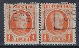 HOUYOUX Nr. 190 Voorafgestempeld Nr. 3474 A + B HUY 1925 HOEI ; Staat Zie Scan ! - Roller Precancels 1920-29