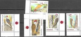 NAMIBIA, 2020, MNH, BIRDS, WOODPECKERS, 5v - Altri