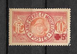 1915 - 105 - Croix Rouge - Oblitérés
