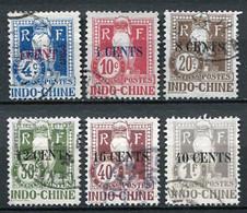 Französisch - Indochina Porto Ex.Nr.21/8          O  Used               (133) - Impuestos