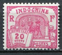 Französisch - Indochina Porto Nr.54          *  Unused               (136) - Impuestos