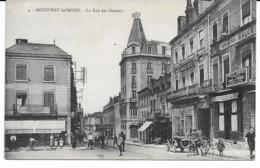 Montceau-les-Mines - La Rue Des Oiseaux - Montceau Les Mines