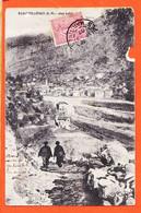VaG193 ♥️ Rare ROQUEBILLIERES 06-Alpes Maritimes Village 1699 Habitants 1907 De Honoré VILAREM Port-Vendres - Roquebilliere