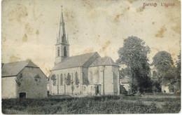 BARNICH ( Arlon) : L'église : Carte Peu Courante ( état : Taches Voir Scan) Ed Imprimerie Willems Arlon - Arlon